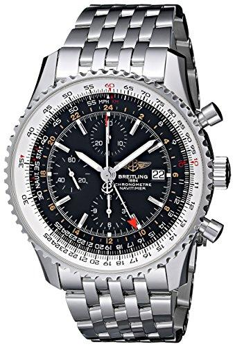 Breitling Men's BTA2432212-B726SS Navitimer World Chronograph Watch