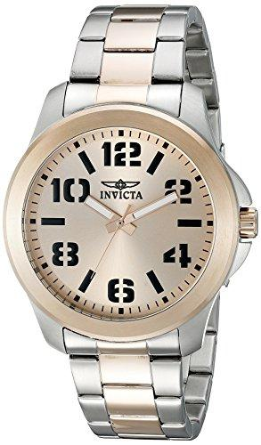 Invicta Specialty Men's Analogue Classic Quartz Watch with Stainless Steel Bracelet – 21442