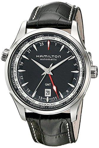 HAMILTON watch Jazzmaster GMT automatic H32695731 Men's [regular imported goods]