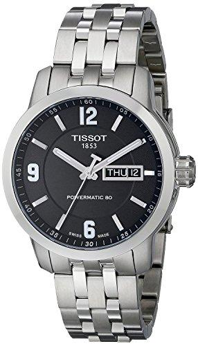 TISSOT watch PRC200 Automatic T0554301105700 Men's [regular imported goods]