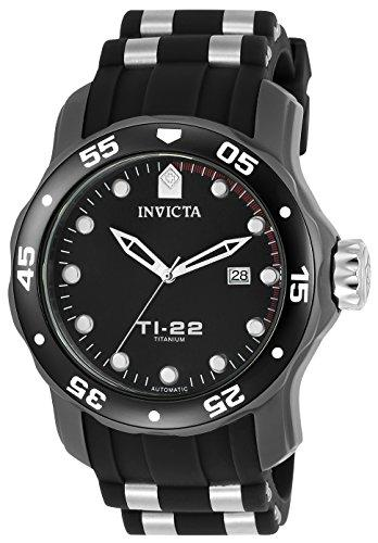 Invicta TI-22 Men's Analogue Classic Automatic Watch with Silicone Strap – 23557