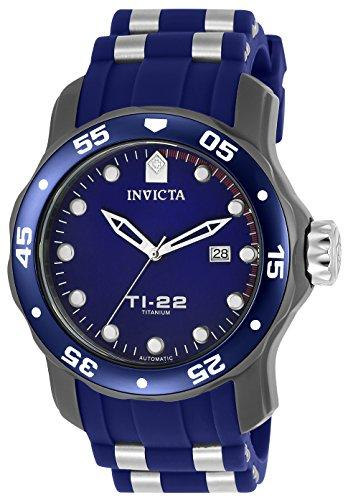 Invicta TI-22 Men's Analogue Classic Automatic Watch with Silicone Strap – 23558