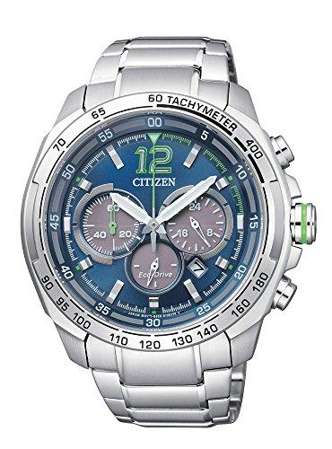 Citizen Mens ECO-DRIVE Chrono Analog Dress Solar Watch (Imported) CA4230-51L