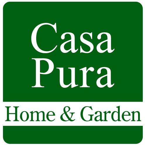 casa pura® Amazonas 100% Natural Sisal Rug with Border (Cotton) | Non Slip Latex Backing | 200x290cm | Natural | 8 Sizes