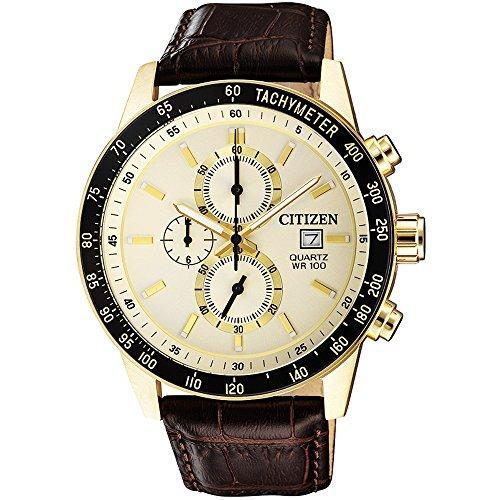 Citizen Watch Men – Quartz – WR 100 – an3602-02 a
