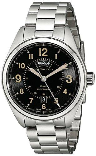 HAMILTON watch Khaki Field Day Date H70505933 Men's [regular imported goods]