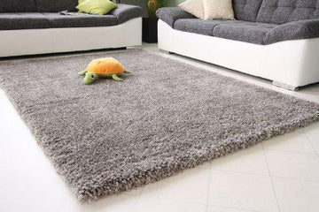 Shaggy Rug 11 Colours 963 Plain 5cm Thick Soft Pile Modern 100% Berclon Twist...