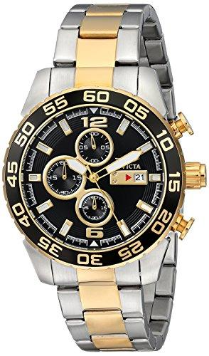 Invicta Specialty Men's Chronograph Quartz Watch with Stainless Steel Bracelet – 1015
