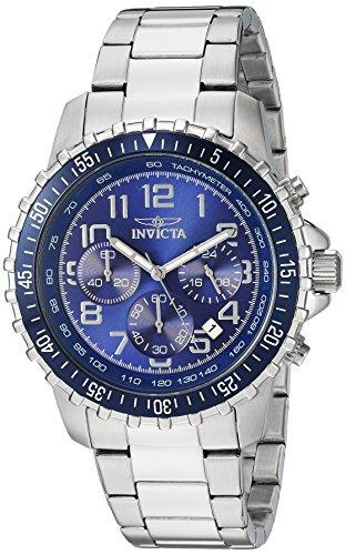 Invicta Specialty Men's Chronograph Quartz Watch with Stainless Steel Bracelet – 6621