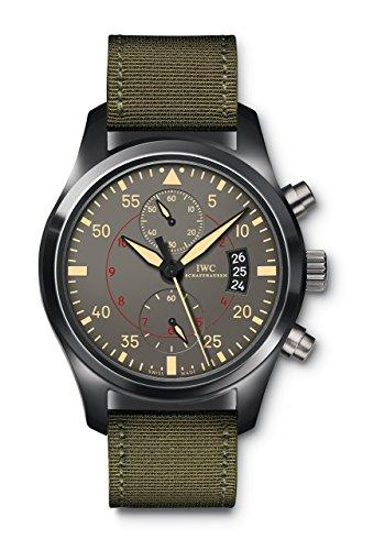 IWC Pilots Anthracite Dial Chronograph Ceramic and Titanium Mens Watch IW3880-02