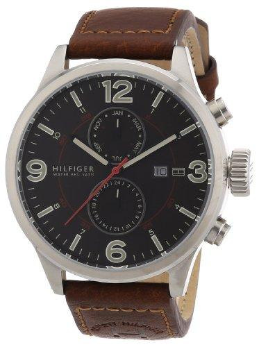 Tommy Hilfiger Watches Men's Quartz Watch 1790892 1790892 with Leather Strap