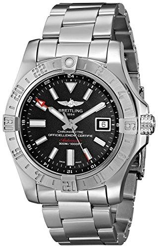 Breitling Avenger II GMT A3239011_BC35_170A mens mechanical automatic watch