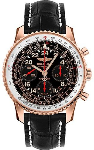 Breitling Navitimer Cosmonaute RB0210B5/BC19-739P 18k Rose Gold Automatic Watch