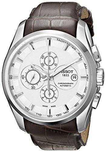 TISSOT watch COUTURIER Couturier Automatic Chronograph T0356271603100 Men's [regular imported goods]