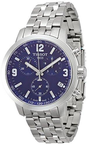 TISSOT watch PRC200 Chronograph T0554171104700 Men's [regular imported goods]