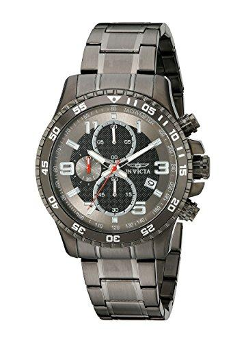 Invicta Specialty Men's Chronograph Quartz Watch with Stainless Steel Bracelet – 14879