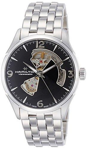 [Hamilton] HAMILTON watch Jazzmaster Open Heart stringent mechanical self-winding H32705131 Men's [regular imported goods]
