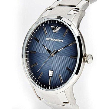 Men's Emporio Armani Watch AR2472 – Steel Silver Classic