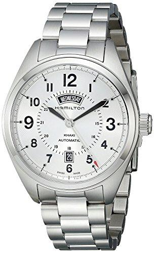 HAMILTON watch Khaki Field Day Date H70505153 Men's [regular imported goods]