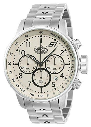 Invicta S1 Rally Men's Chronograph Quartz Watch with Stainless Steel Bracelet – 23077
