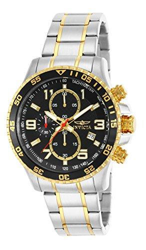 Invicta Specialty Men's Chronograph Quartz Watch with Stainless Steel Bracelet – 14876
