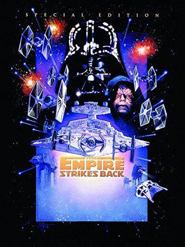 Star Wars Episode V The Empire Strikes Canvas Print, Multi-Colour, 60 x 80 cm