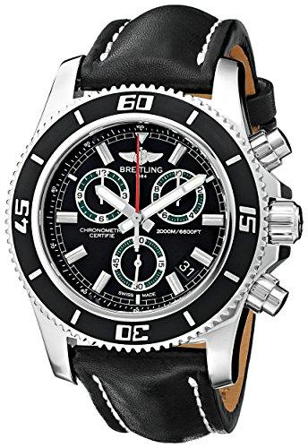 Breitling Men's BTA73310A8-BB75BKLT Superocean M2000 Analog Display Quartz Black Watch