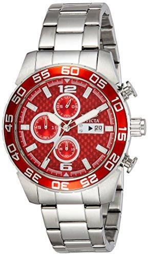 Invicta Specialty Men's Chronograph Quartz Watch with Stainless Steel Bracelet – 21567