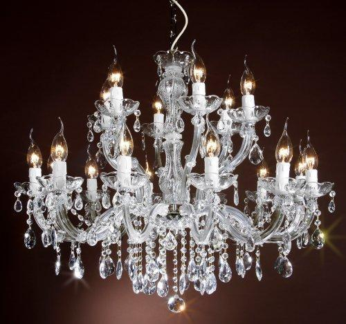 crystal chandelier 18 arms Ø75cm chrom
