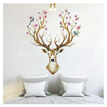 Wall Stickers Christmas Brezeh 3D Wall Paper Eye-catching DIY Decoration PVC Removable Waterproof