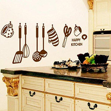 Wall Stickers ,Diadia Removable Mural Stickers Kitchen Wall Stickers Decal Wall Decor Home Decor Kids Room Bedroom Decor Living Room Decor for Christmas, Wedding,Birthday, Anniversary, Engagement