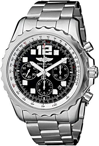Breitling Men's A2336035-BA68 Analog Display Swiss Automatic Silver Watch