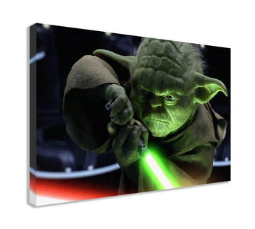 YODA STAR WARS CANVAS WALL ART (30