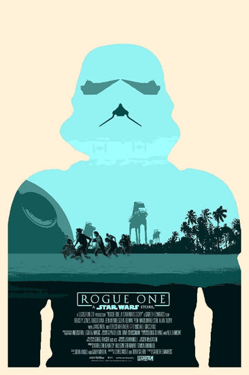 Star Wars Rogue One Poster Canvas Picture Art Print Premium Quality A3 A4 (A4 Poster (210/297mm or 8.3/11.7inches))