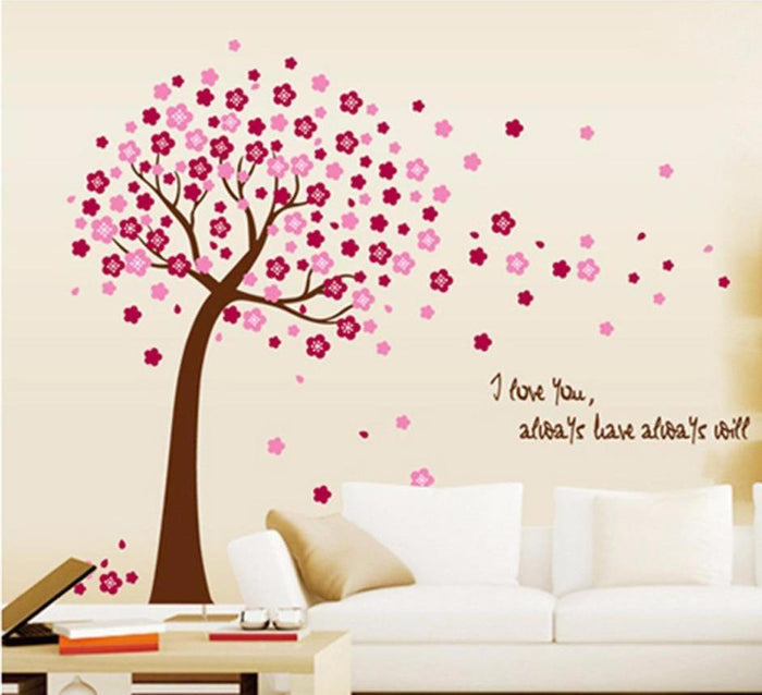 I Love You Tree Wall Sticker