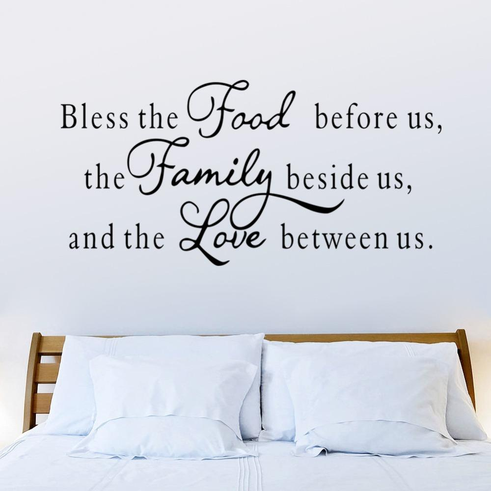 Food Family Love Wall Sticker