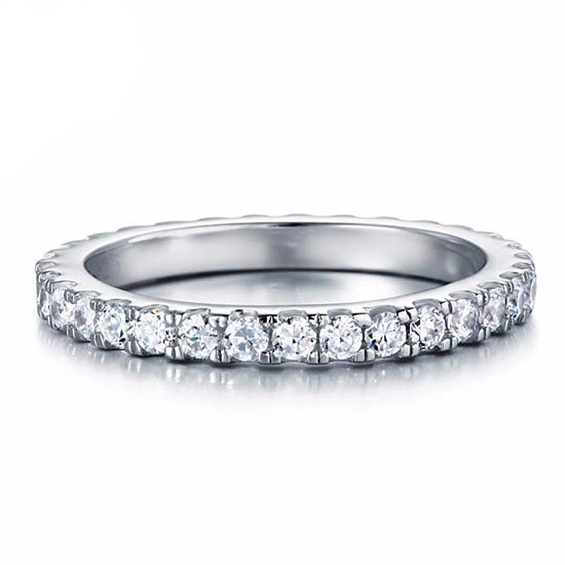 Daisi Zopius Diamond & Silver Eternity Ring