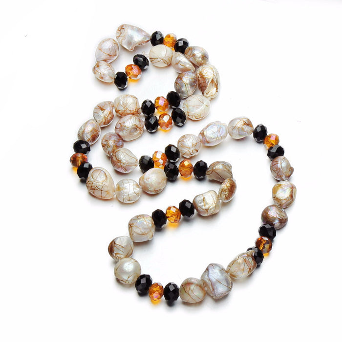 Daiyu Baroque Trendy Pearl Necklace