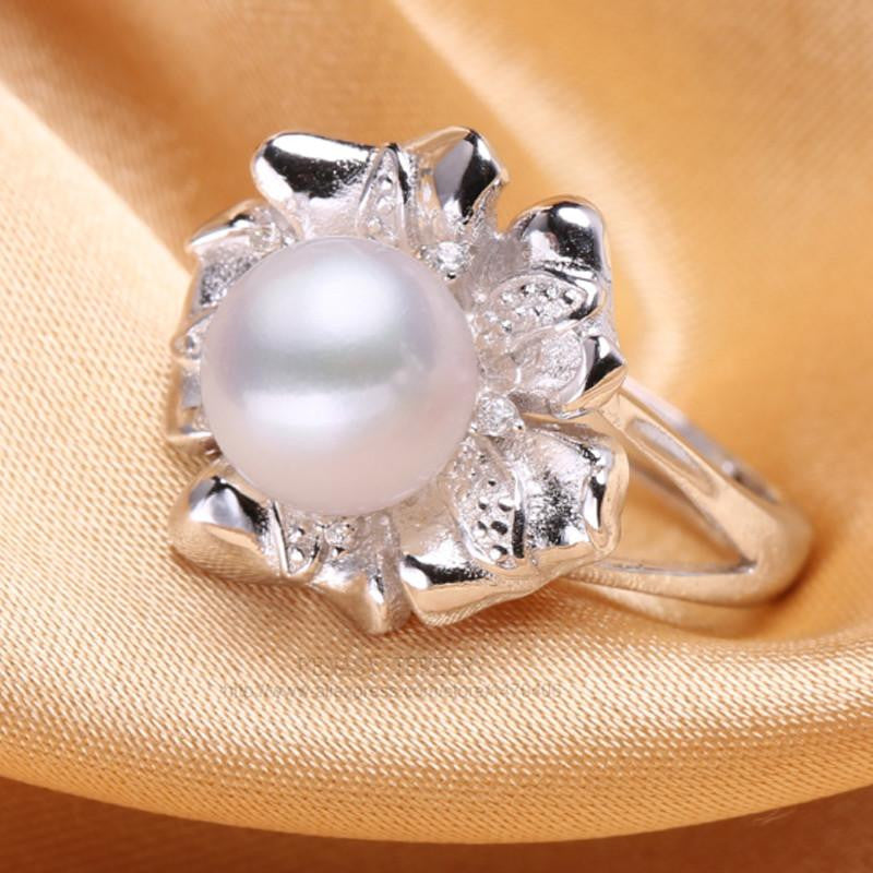 Aiko Round Pearl Ring