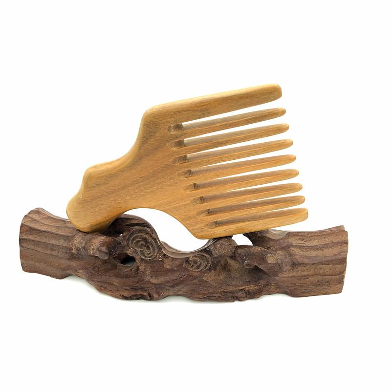 Simple Sandalwood Tooth Beard Comb