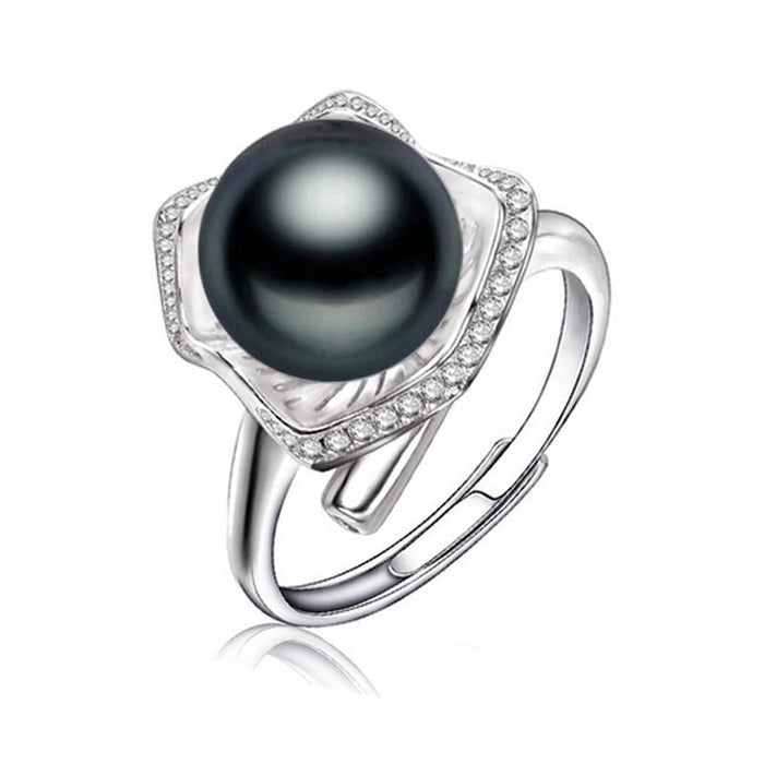 Chieko Round Pearl Ring