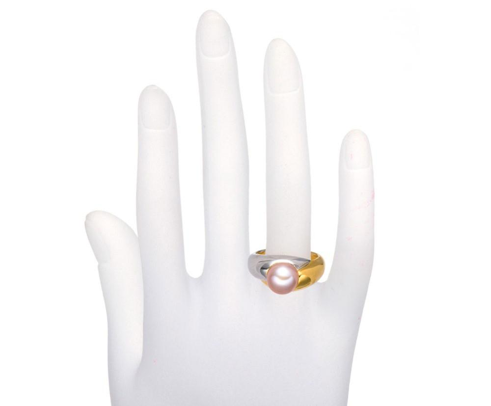 Hoshi Two Tone Pink Pearl Ring