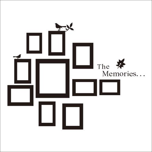 Every Moment Of Life Wall Stickers