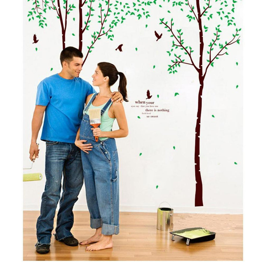 Kid's Room Tree & Birds Mural Wall Stickers