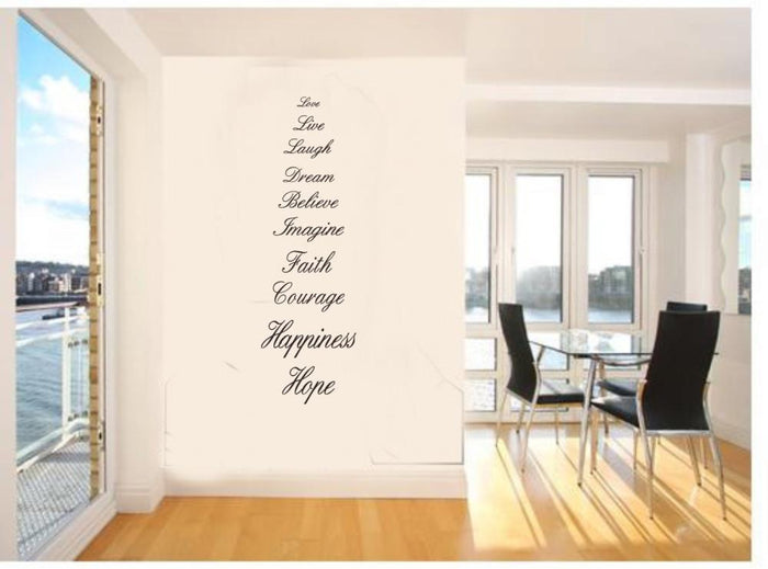 Love Live Hope Wall Sticker