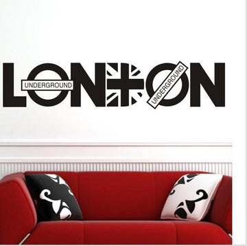 London Underground British Wall Stickers