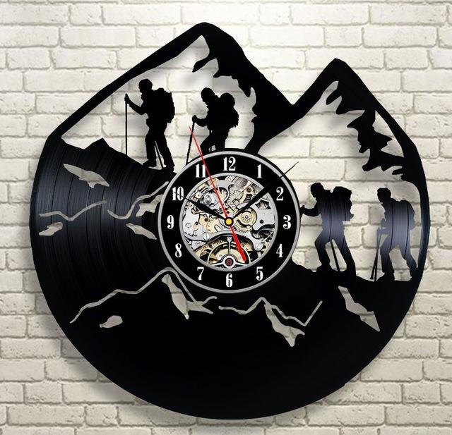 Climb For Your Life Wall Clock