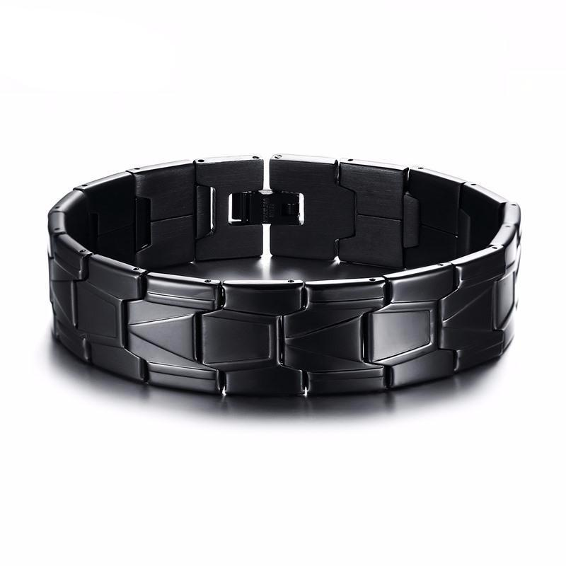Black Punk Charms Stainless Steel for  Men
