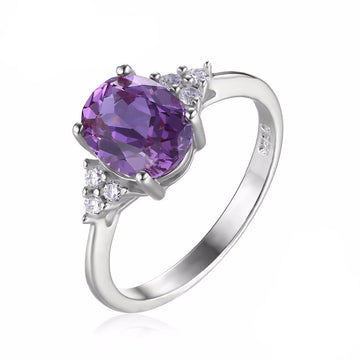 Bette Oval Alexandrite Ring