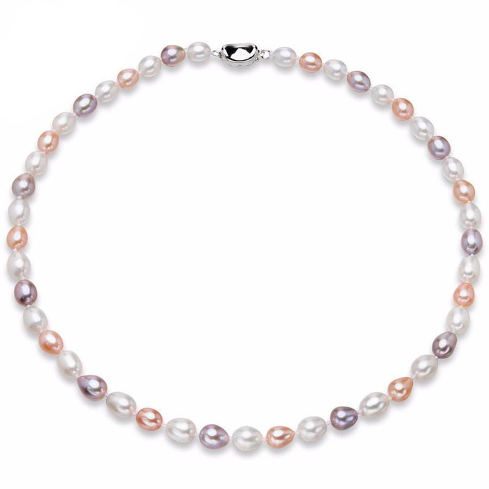 Huifen Choker Mixed Pearl Necklace